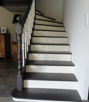 peindre escalier marbre