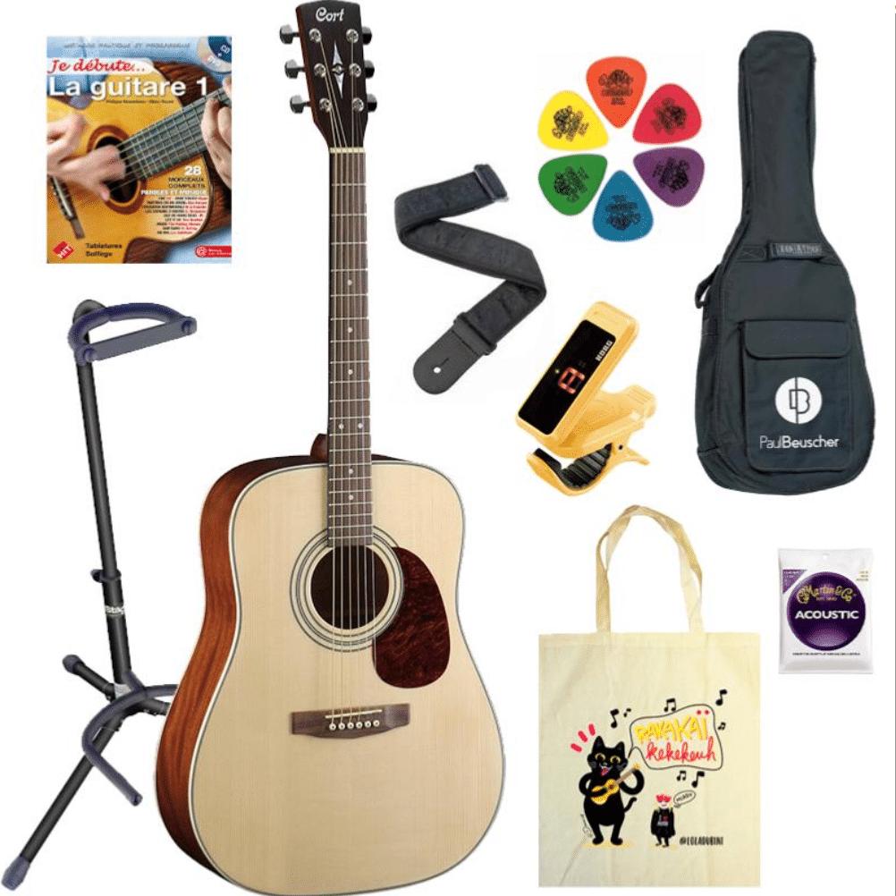 pack pour guitare classique
